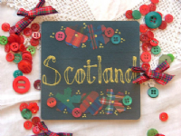 Adornment - Scottish Coaster -Scotland